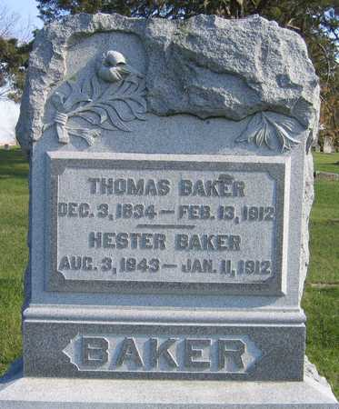 BAKER, THOMAS - Linn County, Iowa | THOMAS BAKER