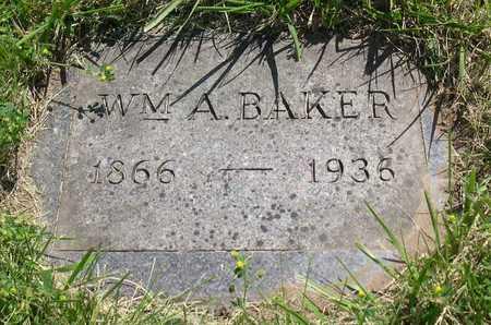 BAKER, WM. A. - Linn County, Iowa   WM. A. BAKER