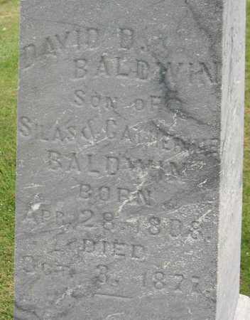 BALDWIN, DAVID D. - Linn County, Iowa | DAVID D. BALDWIN
