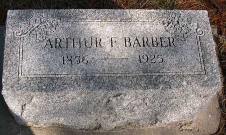 BARBER, ARTHUR F. - Linn County, Iowa | ARTHUR F. BARBER