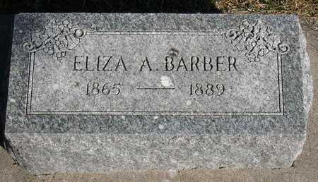 BARBER, ELIZA A. - Linn County, Iowa | ELIZA A. BARBER