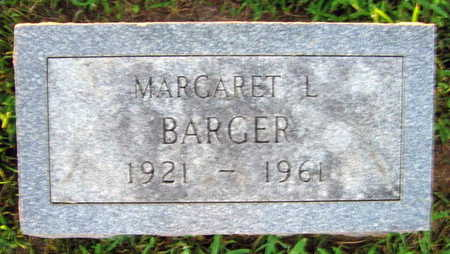 BARGER, MARGARET L. - Linn County, Iowa | MARGARET L. BARGER