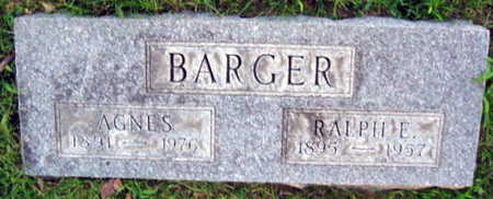 BARGER, AGNES - Linn County, Iowa | AGNES BARGER