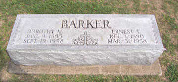 BARKER, DOROTHY M. - Linn County, Iowa | DOROTHY M. BARKER