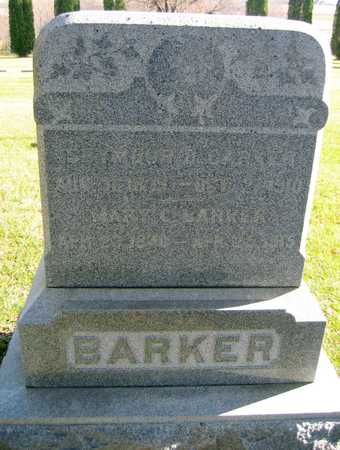 BARKER, MARY C. - Linn County, Iowa | MARY C. BARKER