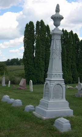 BARRET, FAMILY STONE - Linn County, Iowa   FAMILY STONE BARRET