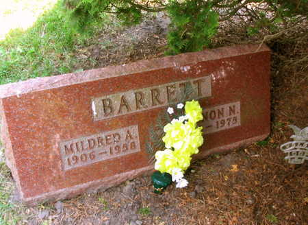 BARRETT, MILDRED A. - Linn County, Iowa | MILDRED A. BARRETT