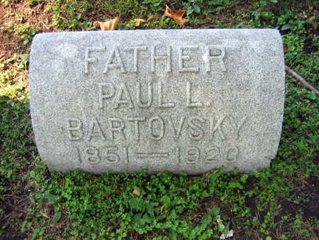 BARTOVSKY, PAUL L. - Linn County, Iowa | PAUL L. BARTOVSKY