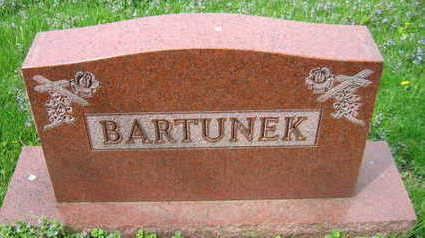 BARTUNEK, FAMILY STONE - Linn County, Iowa | FAMILY STONE BARTUNEK