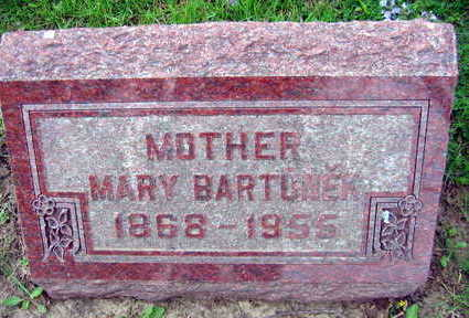 BARTUNEK, MARY - Linn County, Iowa | MARY BARTUNEK