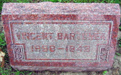 BARTUNEK, VINCENT - Linn County, Iowa | VINCENT BARTUNEK