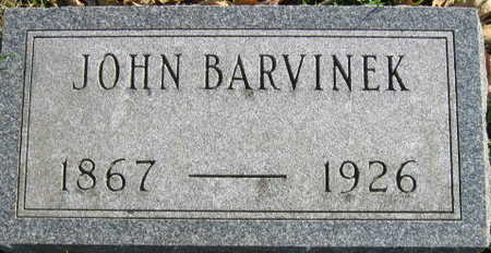 BARVINEK, JOHN - Linn County, Iowa | JOHN BARVINEK