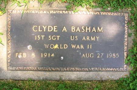 BASHAM, CLYDE A. - Linn County, Iowa | CLYDE A. BASHAM