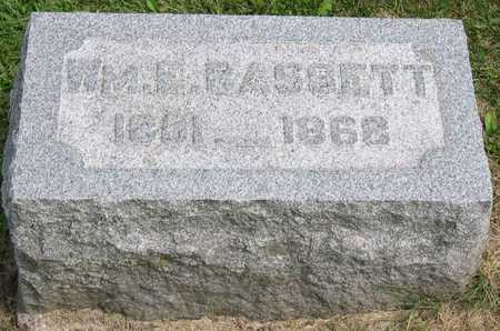 BASSETT, WM. E. - Linn County, Iowa | WM. E. BASSETT