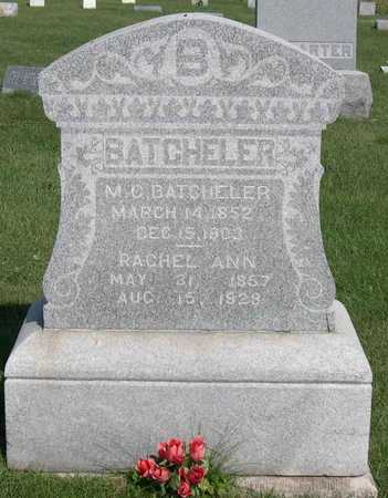 BATCHELER, RACHEL ANN - Linn County, Iowa | RACHEL ANN BATCHELER