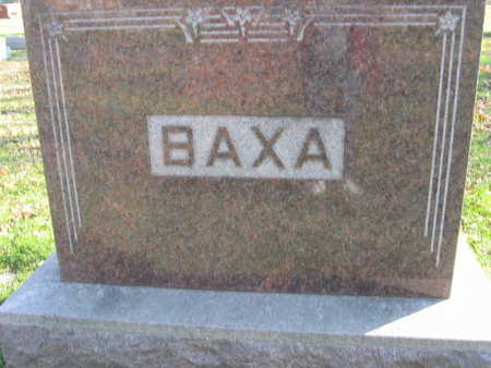 BAXA, FAMILY STONE - Linn County, Iowa | FAMILY STONE BAXA
