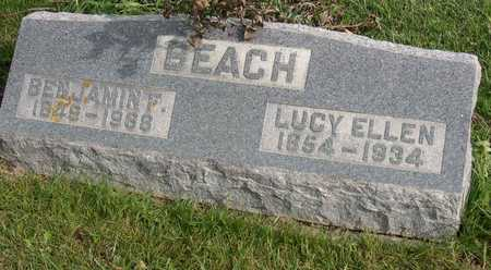 BEACH, LUCY ELLEN - Linn County, Iowa | LUCY ELLEN BEACH