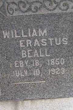 BEALL, WILLIAM ERASTUS - Linn County, Iowa | WILLIAM ERASTUS BEALL