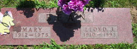 BEAN, LLOYD J. - Linn County, Iowa | LLOYD J. BEAN