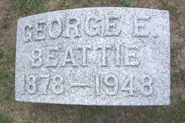 BEATTIE, GEORGE E. - Linn County, Iowa | GEORGE E. BEATTIE