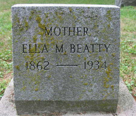 BEATTY, ELLA M. - Linn County, Iowa | ELLA M. BEATTY
