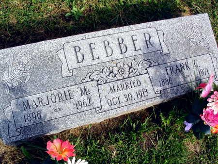 BEBBER, MARJORIE M. - Linn County, Iowa | MARJORIE M. BEBBER