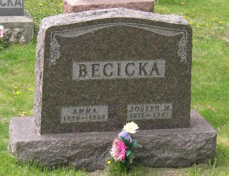 BECICKA, JOSEPH M. - Linn County, Iowa | JOSEPH M. BECICKA