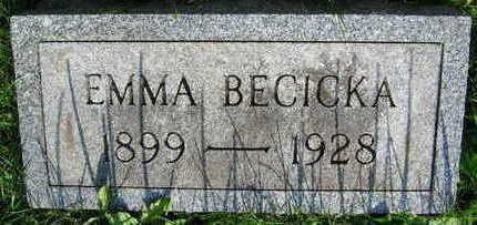 BECICKA, EMMA - Linn County, Iowa | EMMA BECICKA