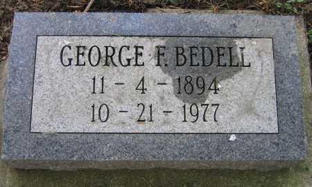 BEDELL, GEORGE F. - Linn County, Iowa | GEORGE F. BEDELL