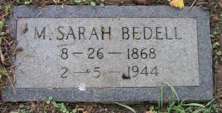 BEDELL, M. SARAH - Linn County, Iowa | M. SARAH BEDELL