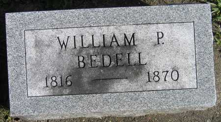 BEDELL, WILLIAM P. - Linn County, Iowa | WILLIAM P. BEDELL