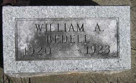 BEDELL, WILLIAM A. - Linn County, Iowa | WILLIAM A. BEDELL