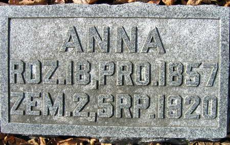 BEDNASEK, ANNA - Linn County, Iowa | ANNA BEDNASEK