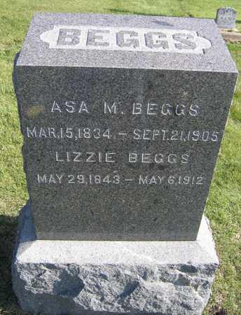 BEGGS, ASA M. - Linn County, Iowa | ASA M. BEGGS