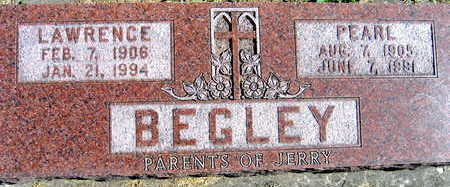 BEGLEY, PEARL - Linn County, Iowa | PEARL BEGLEY