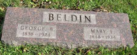 BELDIN, GEORGE W. - Linn County, Iowa | GEORGE W. BELDIN