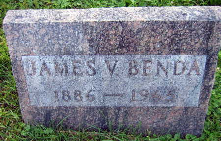 BENDA, JAMES V. - Linn County, Iowa | JAMES V. BENDA