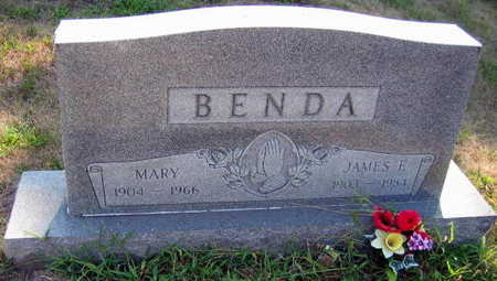 BENDA, JAMES E. - Linn County, Iowa | JAMES E. BENDA