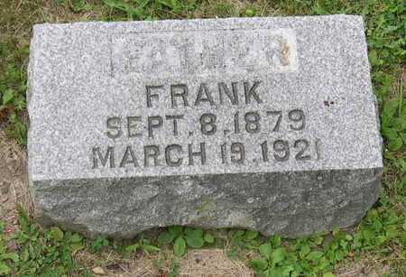 BENESH, FRANK - Linn County, Iowa | FRANK BENESH