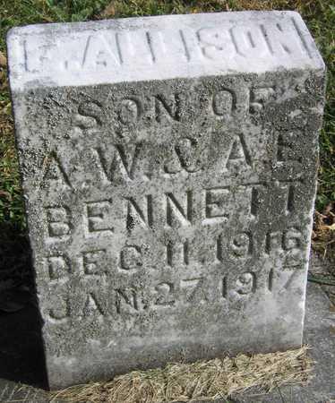 BENNETT, F. ALLISON - Linn County, Iowa | F. ALLISON BENNETT