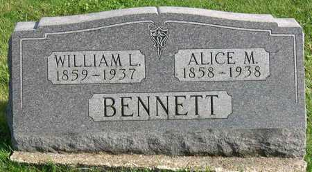 BENNETT, ALICE M. - Linn County, Iowa | ALICE M. BENNETT