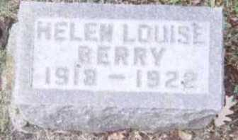 BERRY, HELEN LOUISE - Linn County, Iowa | HELEN LOUISE BERRY