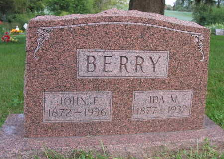 BERRY, IDA M. - Linn County, Iowa | IDA M. BERRY
