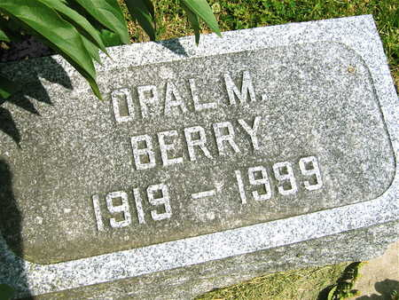 BERRY, OPAL M. - Linn County, Iowa | OPAL M. BERRY