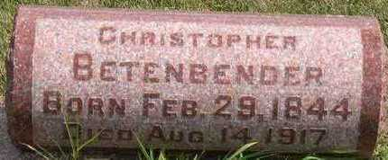 BETENBENDER, CHRISTOPHER - Linn County, Iowa | CHRISTOPHER BETENBENDER