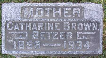 BROWN BETZER, CATHARINE - Linn County, Iowa | CATHARINE BROWN BETZER