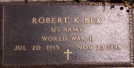 BEX, ROBERT K. - Linn County, Iowa | ROBERT K. BEX