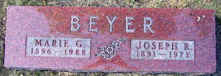 BEYER, MARIE G. - Linn County, Iowa | MARIE G. BEYER