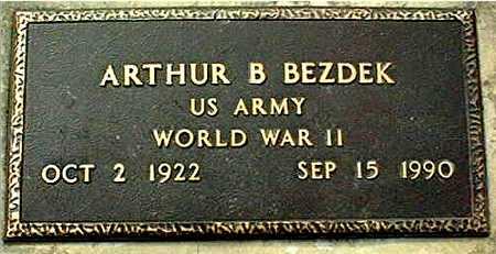 BEZDEK, ARTHUR B. - Linn County, Iowa | ARTHUR B. BEZDEK