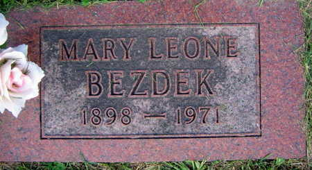 BEZDEK, MARY LEONE - Linn County, Iowa | MARY LEONE BEZDEK